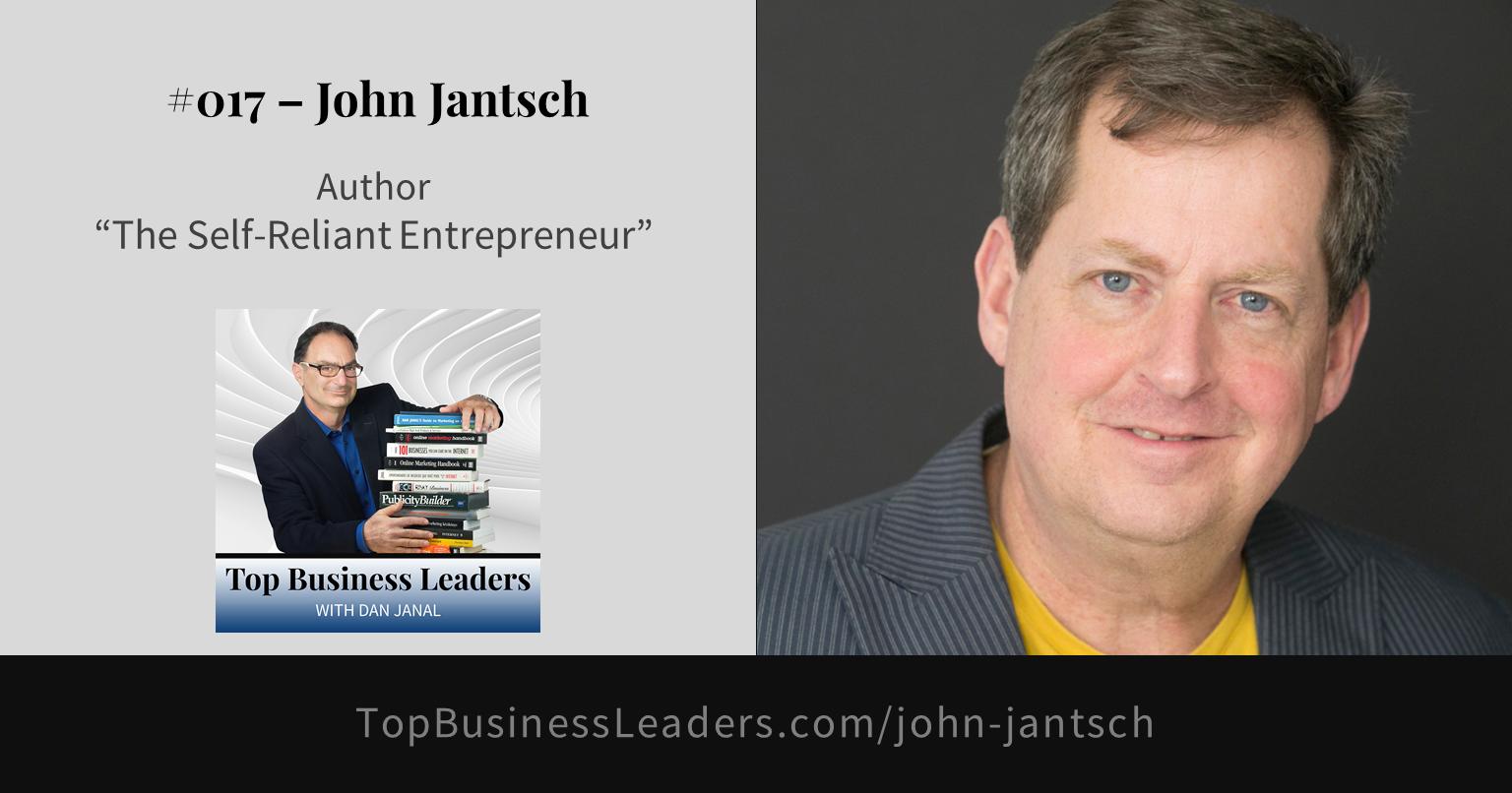 john-jantsch-author-the-self-reliant-entrepreneur
