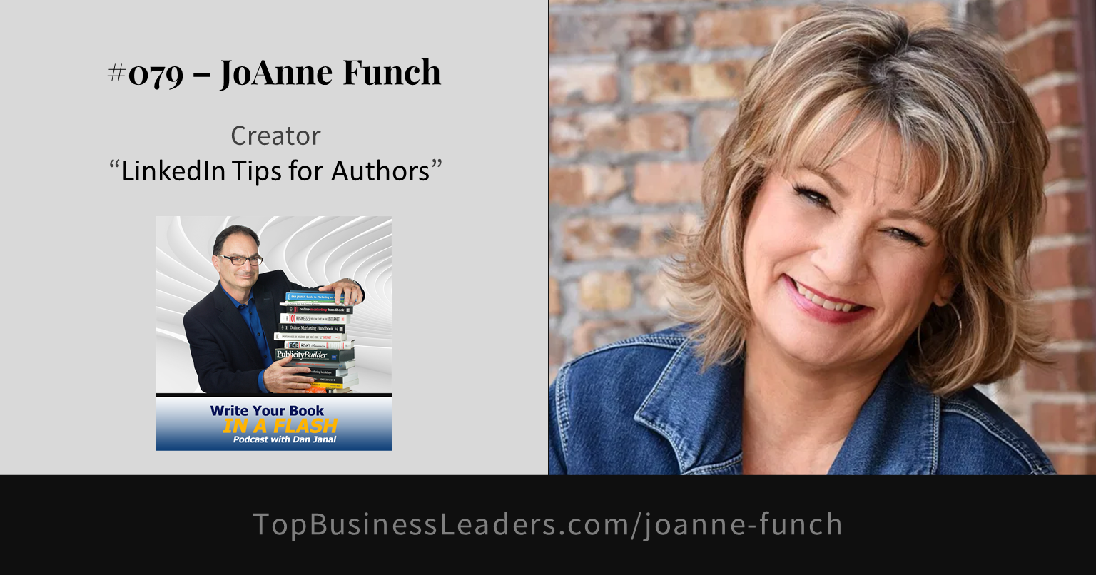 joanne-funch-topic-linkedin-tips-for-authors